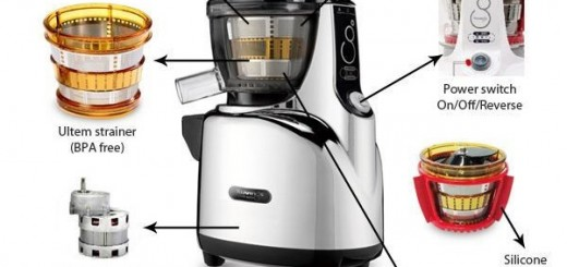Best Vertical Masticating Juicer 2015 : Kuvings Whole Slow Juicer Online Review - Available Online