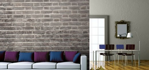 Charcoal Brick Wallpaper