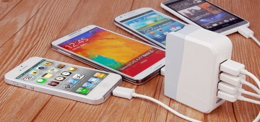 USB 4 Port Charger