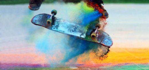colorful-skateboarding-pose