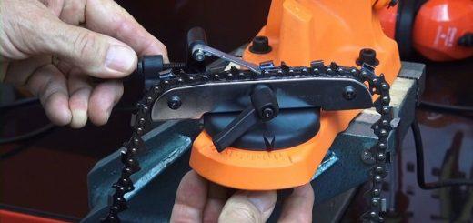 electric chain sharpener