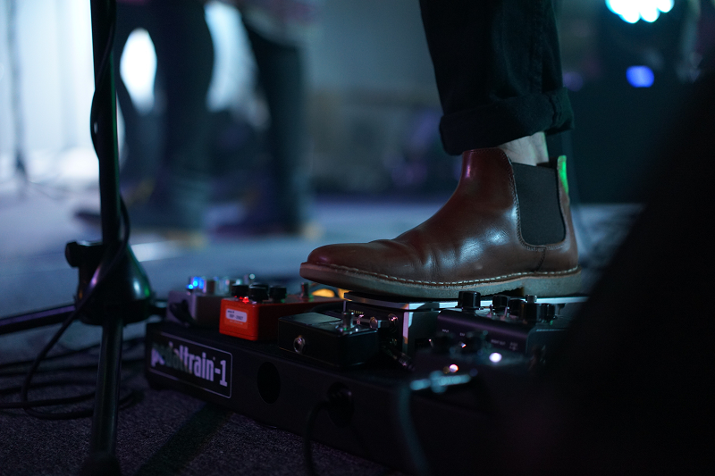 electric guitar pedals