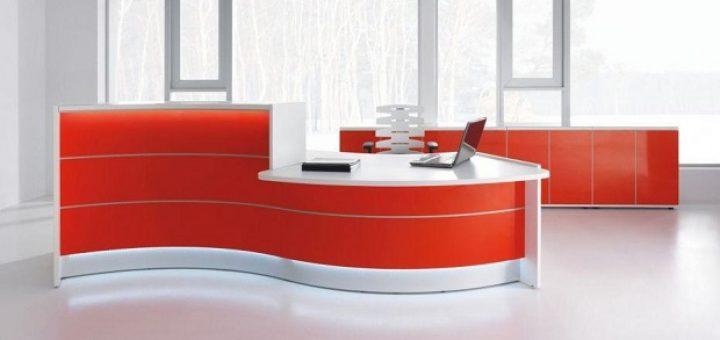 Waved Desk