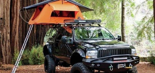 4x4 camping equipment