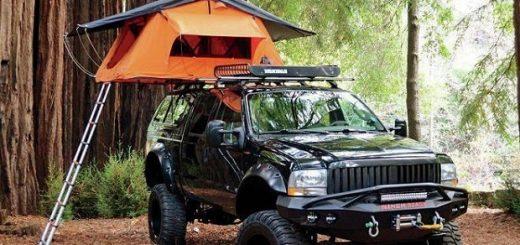4x4 camping equipment