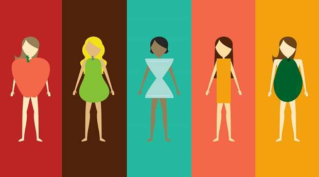 types of women body