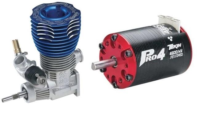 RC trucks motors