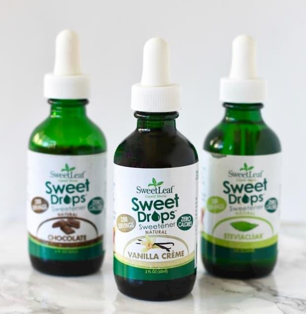 sweetleaf sweet drops bottles