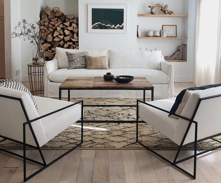 white urban sofa