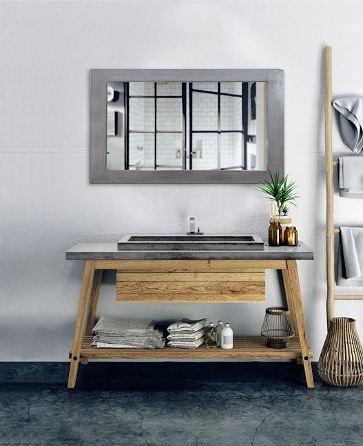 Bathroom stone sink