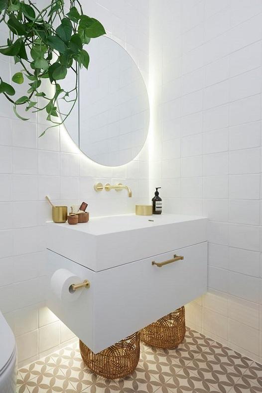 Bathroom Porcelain Basin