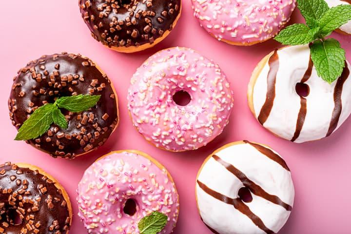Gluten-Free Doughnut Box