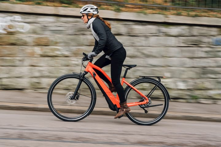 e-bike to burn calories