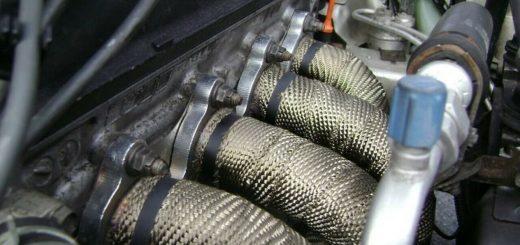 exhaust wrap machine