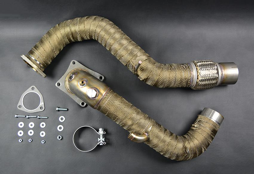 exhaust wrap pipe