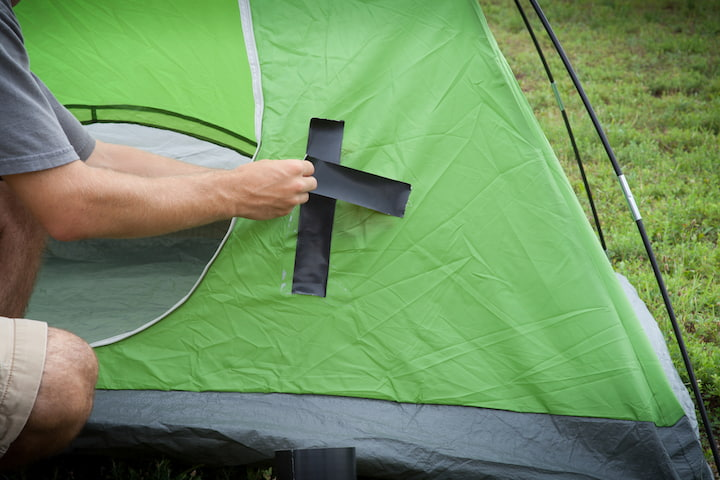 tape-for-tent-damage
