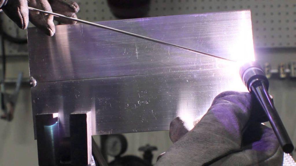 tig welding aluminum horizontal