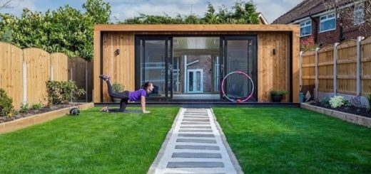 Convert Your Shed Into home gym