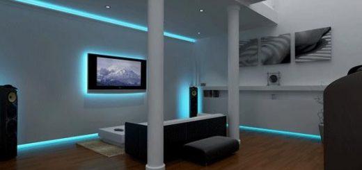 led lights home decor
