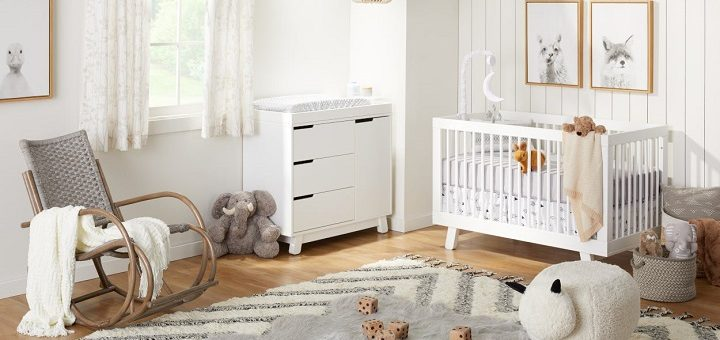 Scandi-style nursery