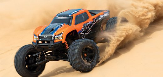 rc truck dust performance