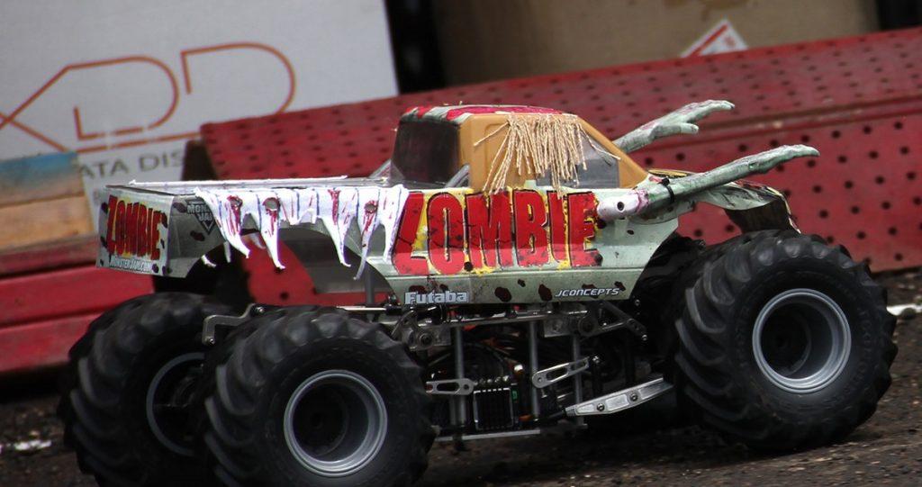 rc truck zombie