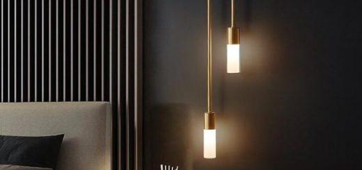 bedroom wall led lights