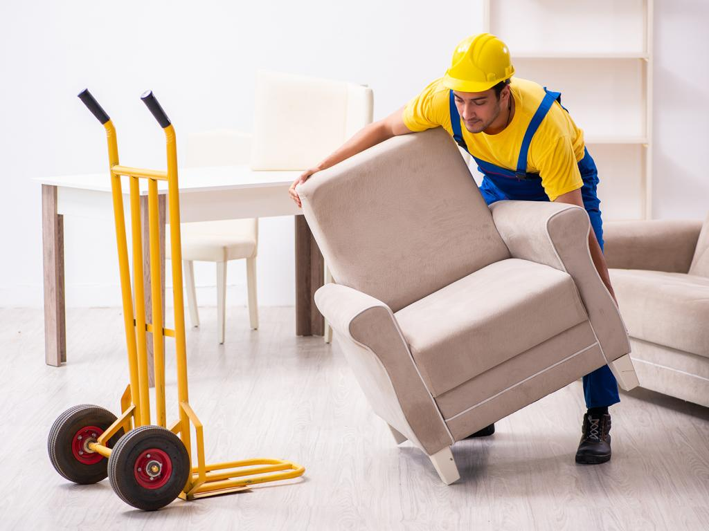 Furniture moving dolly